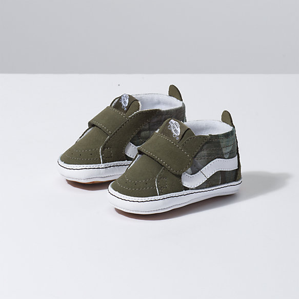 Infant Plaid Camo Sk8-Hi Crib