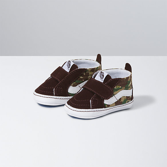 Infant Animal Camo Sk8-Hi Crib