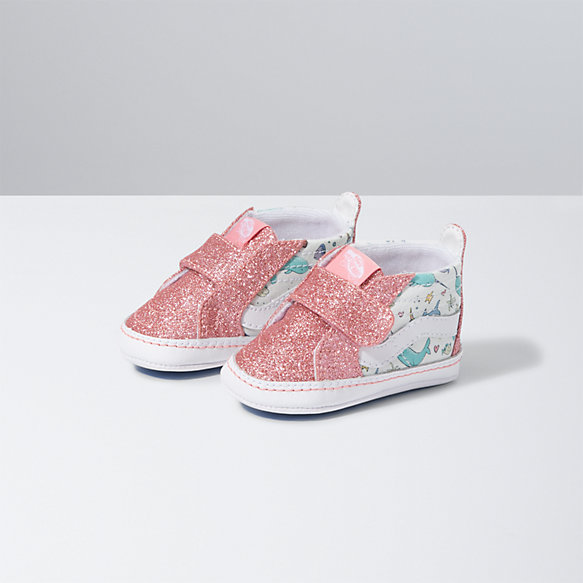 Infant Shark Party Sk8-Hi Crib