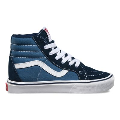 Exclusive Kid's Vans Navy White Shoes