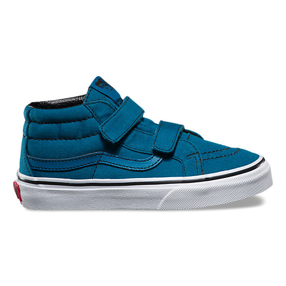 Kids Contrast Stitch SK8-Mid Reissue V