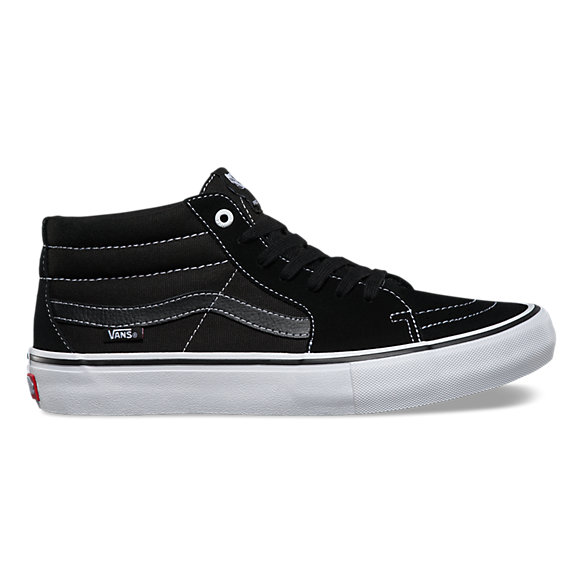 vans shoes all black