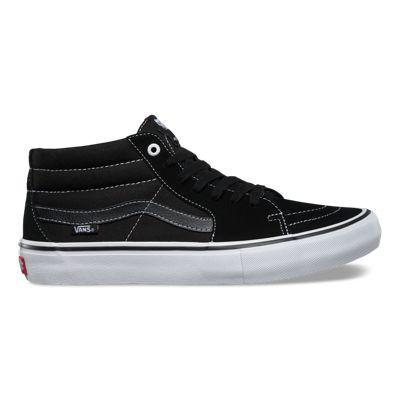 Vans sk8 Mid Proscarpe unisex mid Hi Skate SneakerPro SeriesBlack/White
