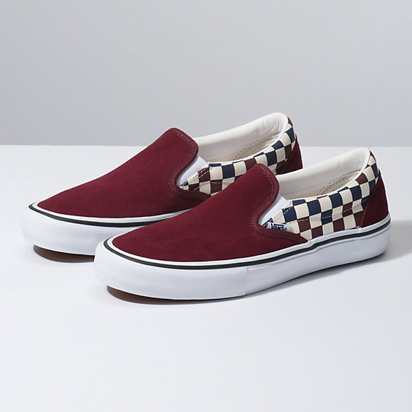 Multi Checker Slip On Pro