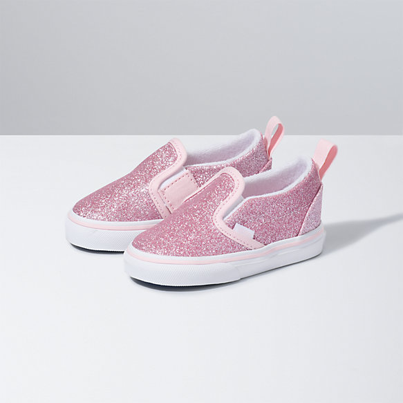 Toddler Glitter Slip-On V