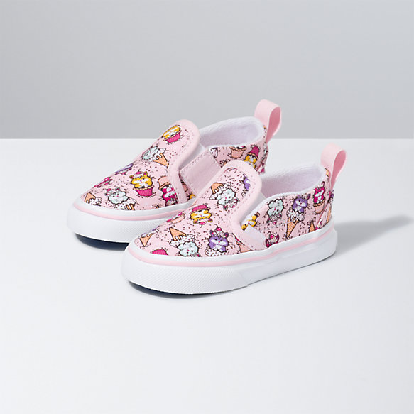Toddler Kitty Cakes Slip-On V
