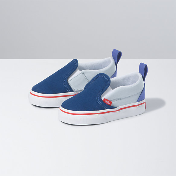 Toddler Color Block Slip-On V