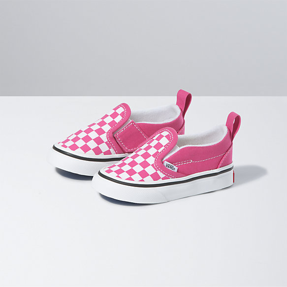 Toddler Checkerboard Slip-On V