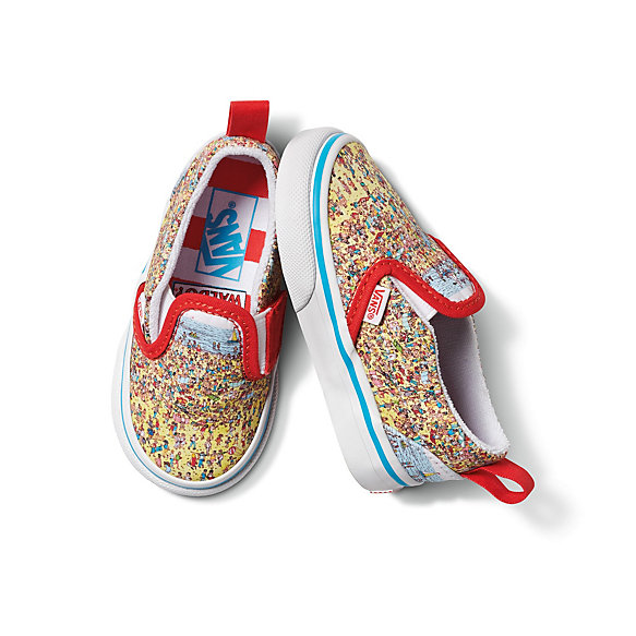 Vans x Where's Waldo? Toddler Slip-On V