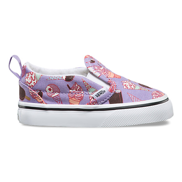 Toddler Glitter Ice Cream Slip-On V