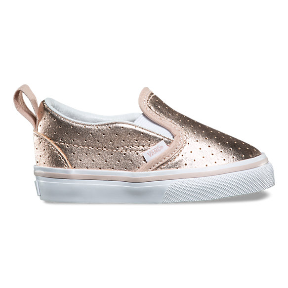 Toddler Perf Leather Slip-On V