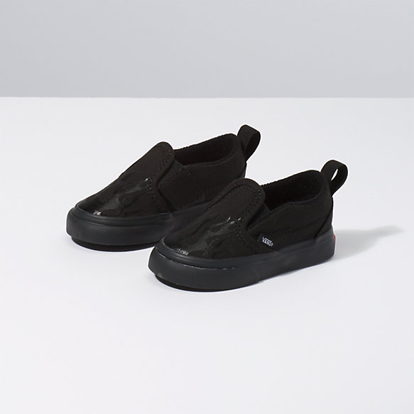Toddler Glossy Flame Slip-On V