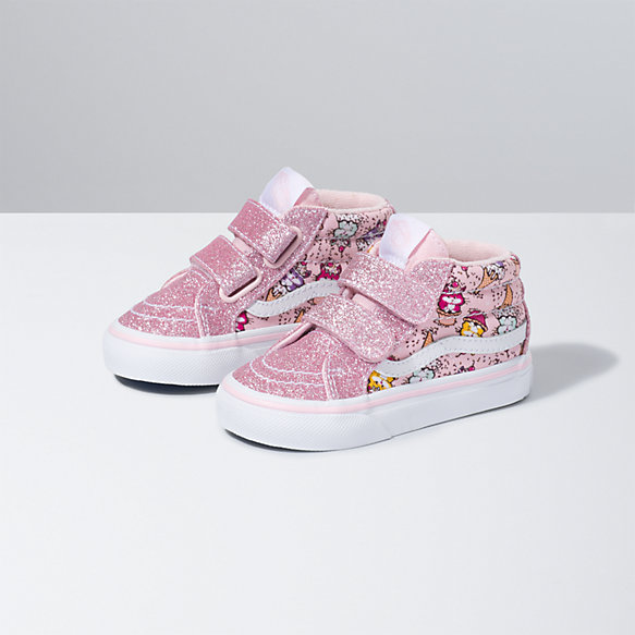 Toddler Kitty Cakes Sk8-Mid Reissue V