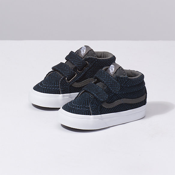 Toddler Tweed Tech Sk8 Mid Reissue V