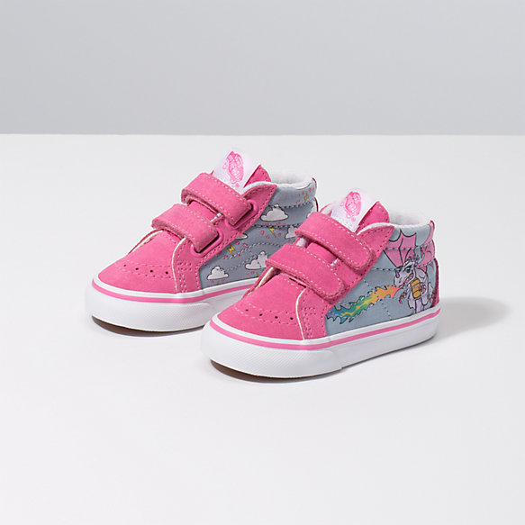 Toddler Rainbow Dragon Sk8-Mid Reissue V