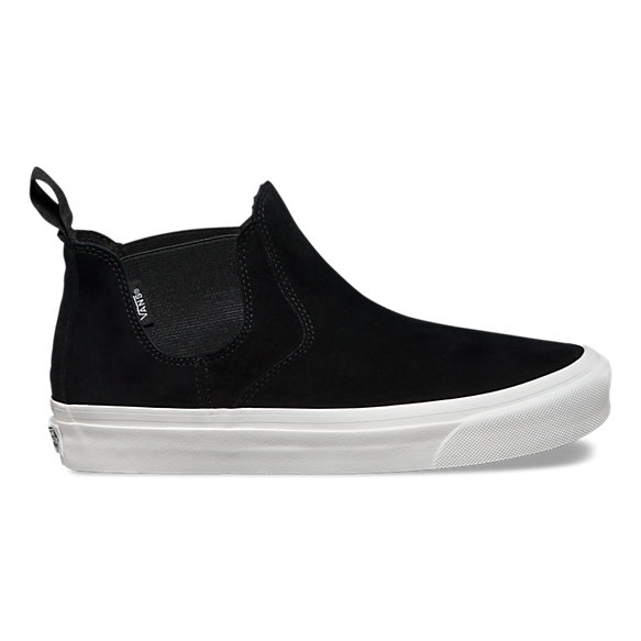 vans slip on weiß leder damen