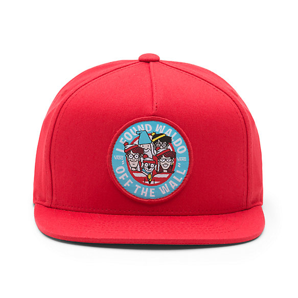 Vans X Where's Waldo? Boys Snapback Hat