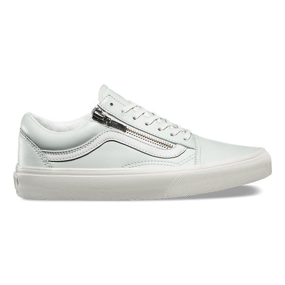 Leather Old Skool Zip