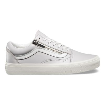 Vans Old Skool Zip Leather Trainer CP5103