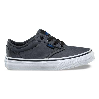 e9d3d0730781 Vans Kids Atwood Mono Textile Black
