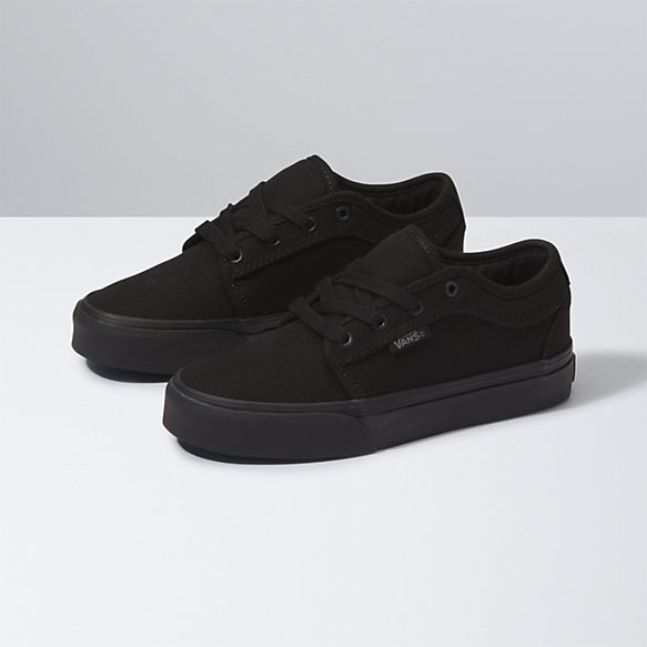 vans black shoes kids