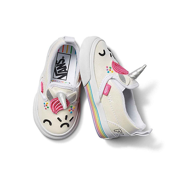 Toddler Vans X Flour Shop Toddler Slip-On V