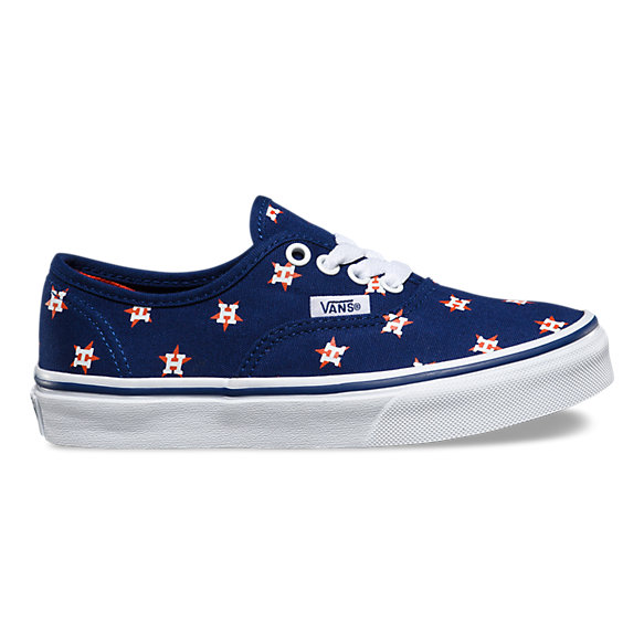 Houston Astros Vans Shoes