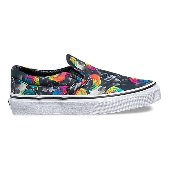 1195f191b6fc9 Kids Rainbow Floral Slip-On