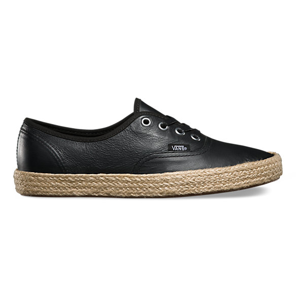 Leather Authentic Espadrille