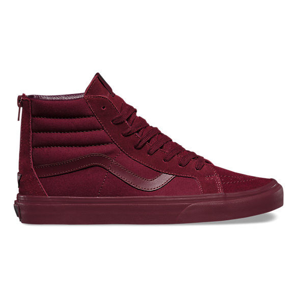vans old skool bordeaux mono