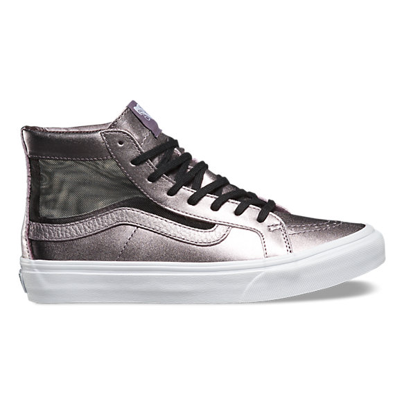pretty nice 0e17f 0cec0 Mesh Metallic SK8-Hi Slim Cutout   Shop Womens Shoes At Vans