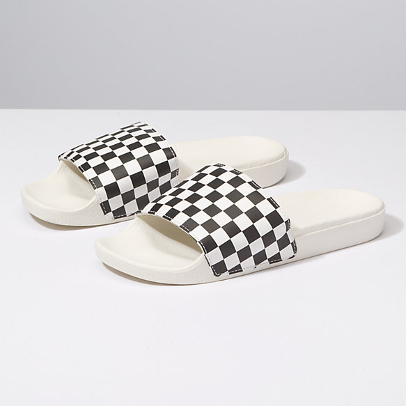 vans slip on checkerboard damen