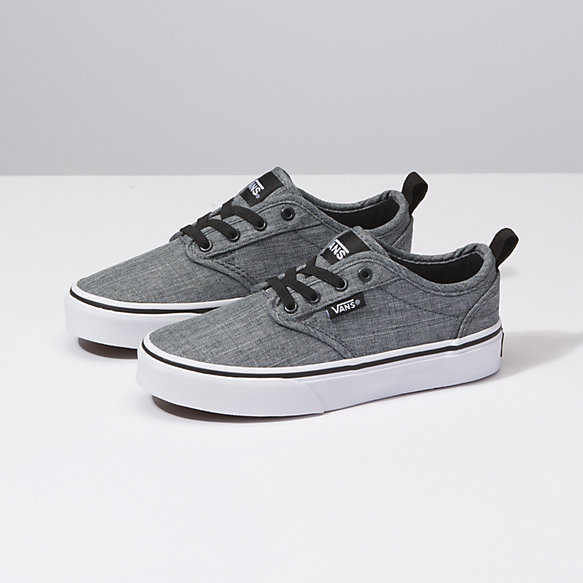 vans mens shoes atwood gray canvas medium width sneakers nz