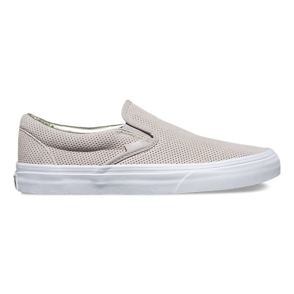 perf suede slip on shop shoes at vans. Black Bedroom Furniture Sets. Home Design Ideas