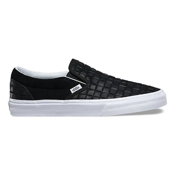 Suede Checkers Slip-On