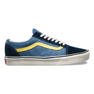 Vans OLD SKOOL LITE CLASSICS reissue blue lemon
