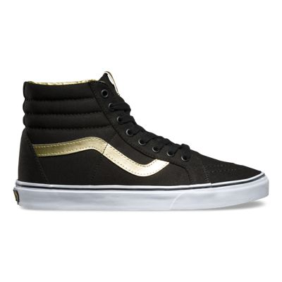 Vans sk8 REISSUE Classic 50th BLACK GOLD