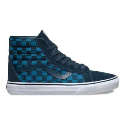 Vans SK8HI REISSUE Classics stitch checkers blue mirage