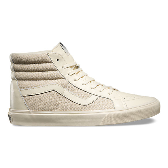 Vans High Tops White Leather