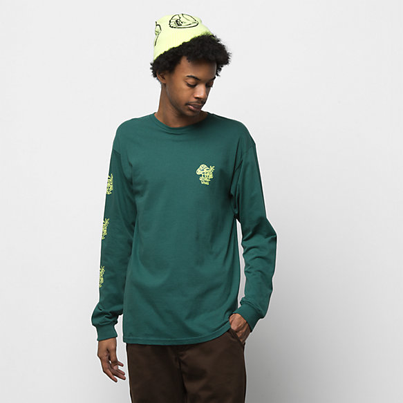 Checkershroom Long Sleeve T-Shirt