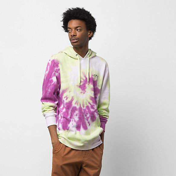 Slow Fashion Tie Dye Pullover Hoodie