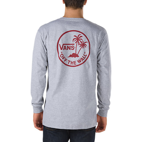 Surf Palm Long Sleeve T Shirt Shop Mens T Shirts At Vans