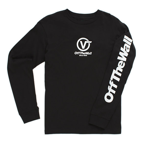 Boys Distorted Performance Long Sleeve T-Shirt