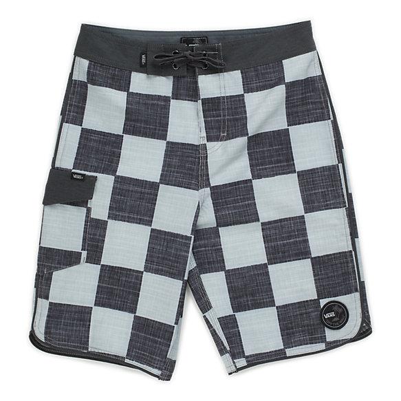 986b838ae6 Boys Mixed Scallop Boardshort | Shop At Vans