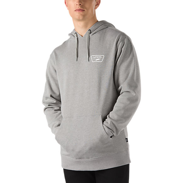 Full Patched Pullover Hoodie