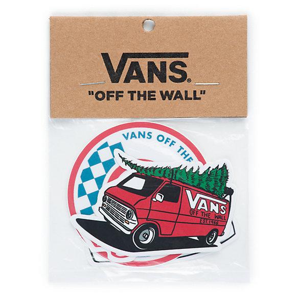 Vans Red Van Sticker Pack