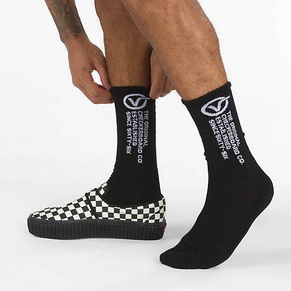 Distorton Crew Sock