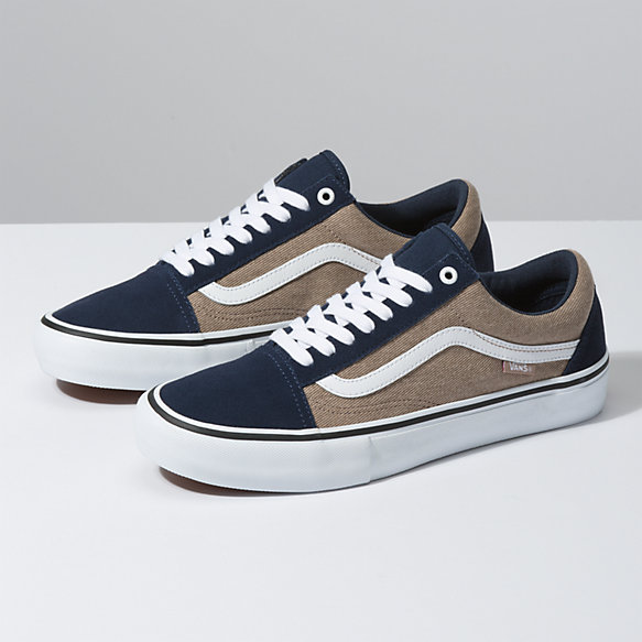 Chaussures Vans Old Skool Pro W18 Potting SoilLeather brown