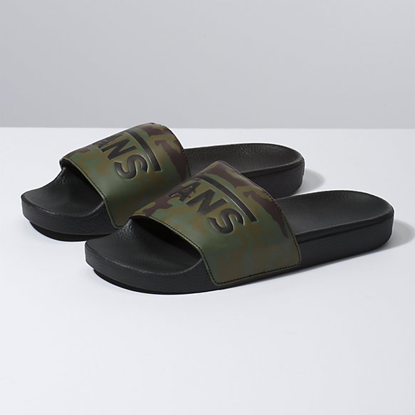 268bb3bcb416 Camo Slide-On