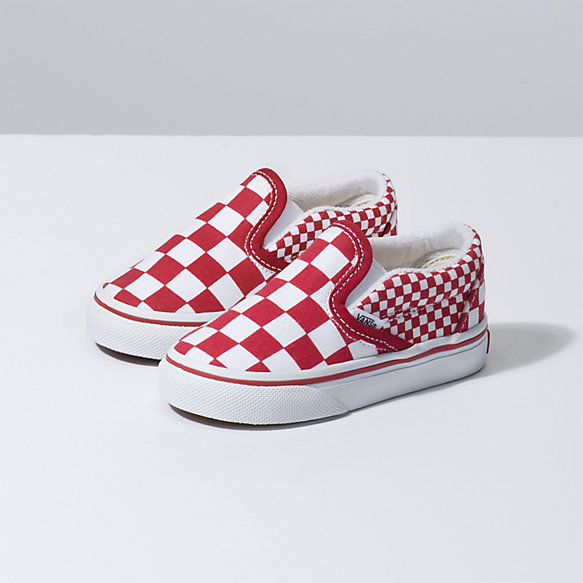 Toddler Mix Checker Slip-On